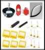 Hepa Filter Flexible Beater Bristle Brush Kit Steering Wheel For IRobot Roomba 700 760 770 780