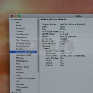 "Image 2 - 661 4664 8800GS 512MB بطاقة الرسومات الفيديو ل iMac A1225 24 ""2008 دون المبرد 180 10398 0005 A04 180 10398 0000 A02"