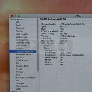 Image 2 - Placa de vídeo para imac a1225 24 , 661 4664 8800gs 512mb placa de vídeo para imac a1225 24 2008 sem dissipador de calor