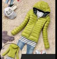 Novo 2019 Senhoras Da Moda Para Baixo Casaco de Design de Curto Mulheres Jaqueta de Inverno de Algodão-acolchoado Sólida Fino Zipper Outerwear