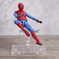 Superhero Spiderman Movable Figure Spider Man Homecoming PVC Action Figure Model Toy Boxed