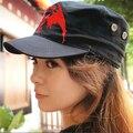 Шляпы прохладно хип-хоп Touhou Project Cos Hat Remilia алые японии аниме косплей плоские шляпы Sunbonnet для мужчин и для женщин