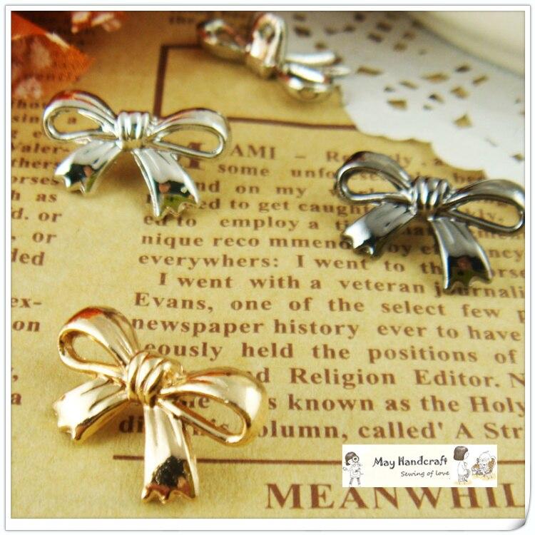 Новое поступление! Золото/Gun/Silver Выберите высокое качество милые бабочки металлический Пуговицы для судов, модное платье с пуговицами и пря...