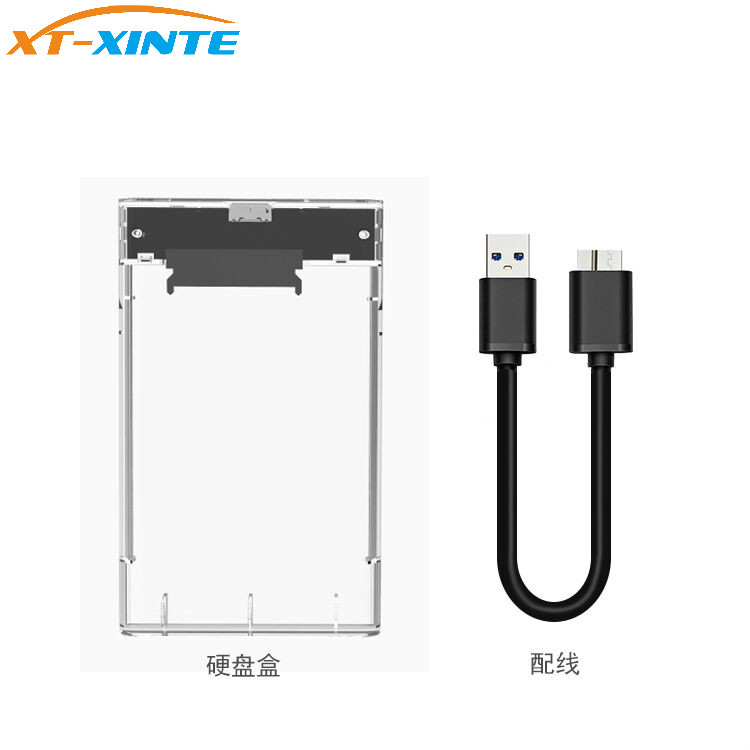 <font><b>2</b></font>.<font><b>5</b></font> inch <font><b>USB3.0</b></font> to <font><b>Sata</b></font> 3.0 Tool Free <font><b>5</b></font> Gbps Box Hard Drive Enclosure Box Support UASP Protocol for 2TB <font><b>2</b></font>.<font><b>5</b></font>