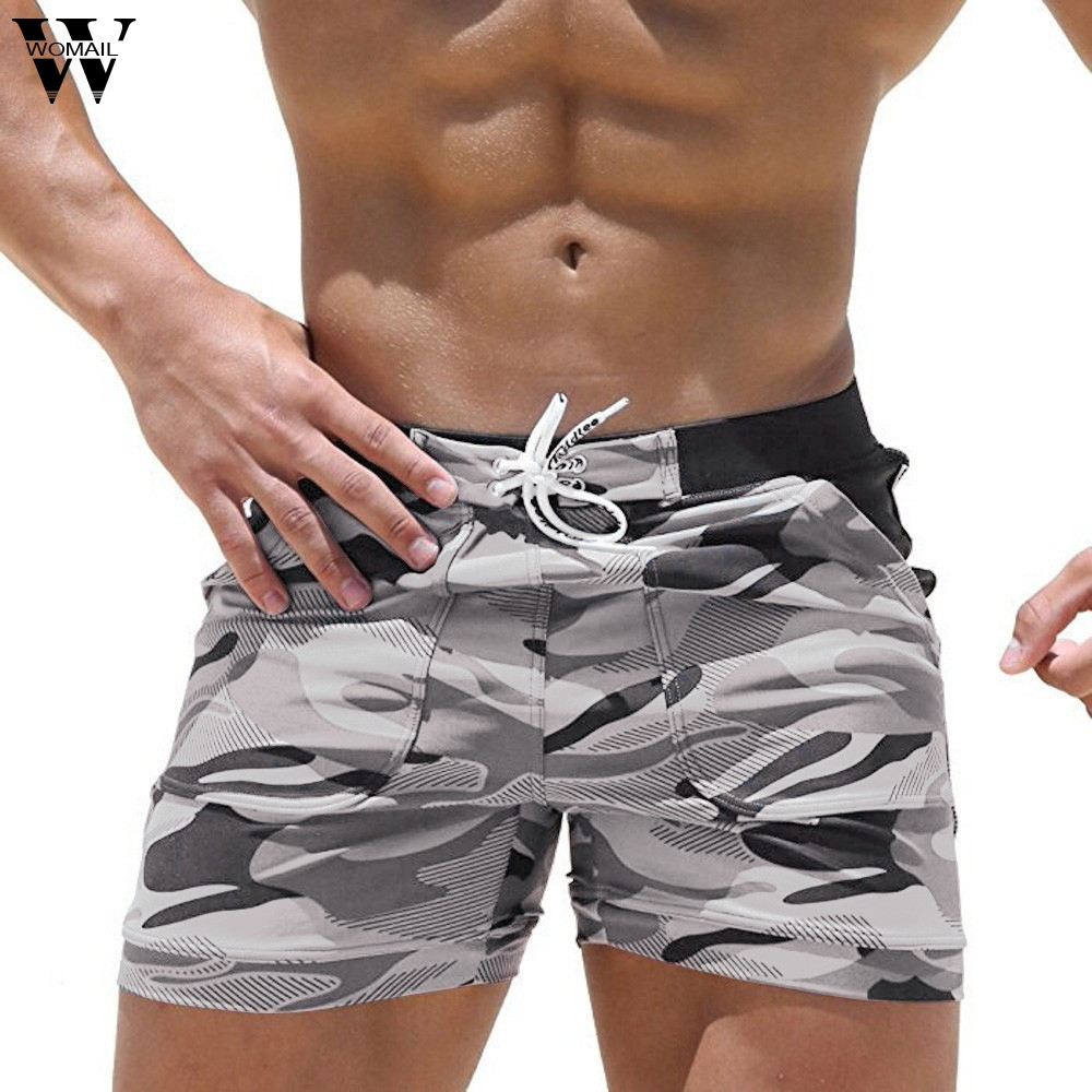 Womail Men's Short Camouflage Beach Casual Short Swimwear Running Surfing Trunks Board Fanshion Shorts Deporte Dropship J25