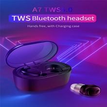 IPX5 TWS True Wireless Earbuds 5D Stereo Bluetooth Earphones Mini Waterproof Headfrees with Power Bank pk i7s i10 tws
