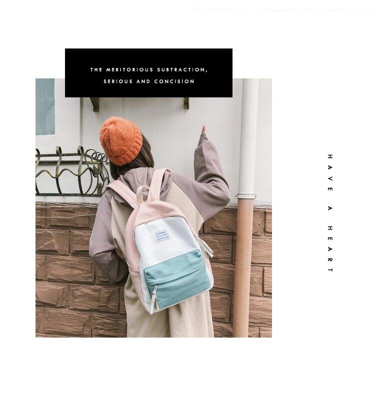 HTB17Bb9XKbviK0jSZFNq6yApXXaI 2019 New Fashion Women Backpack Leisure Shoulder School Bag For Teenage Girl Bagpack Rucksack Knapsack Backpack For Women