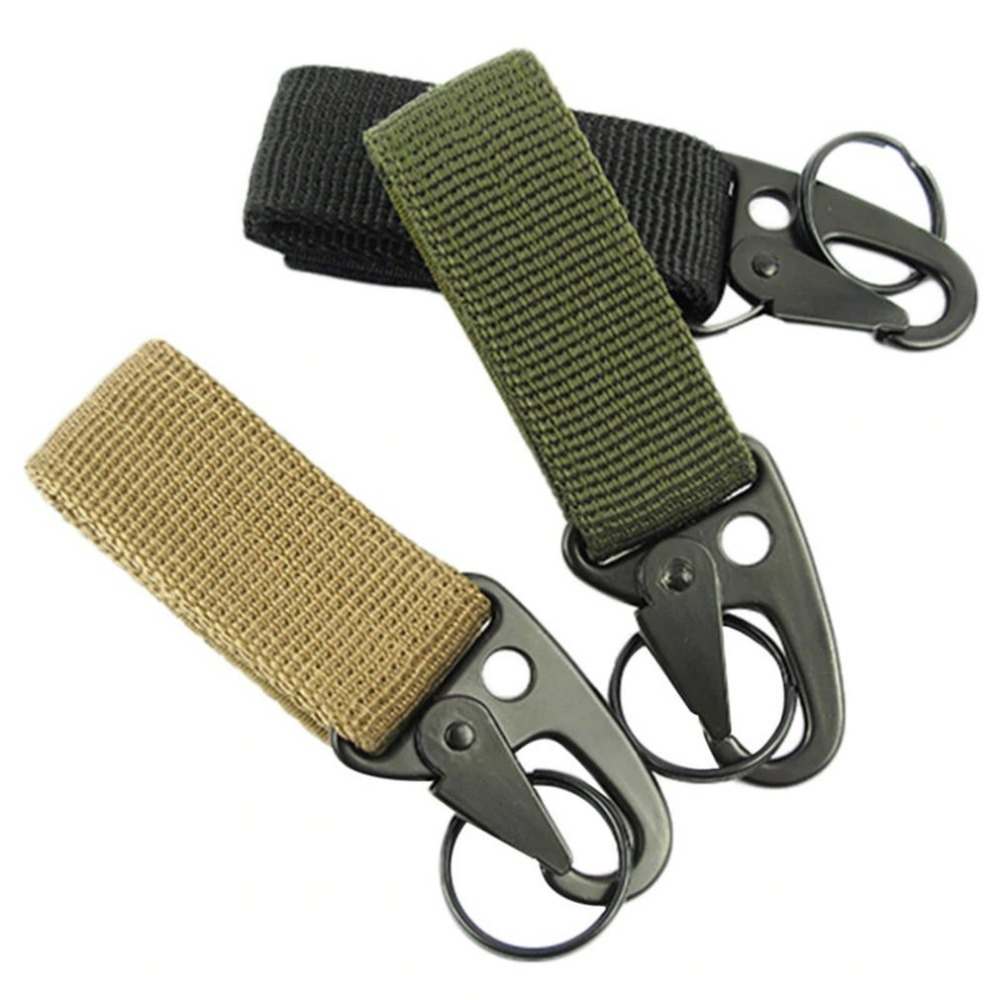 Multifunctional Outdoor Camping Tactical Carabiner Backpack Hooks Olecranon Molle Hook Survival Gear Keychain Clasp