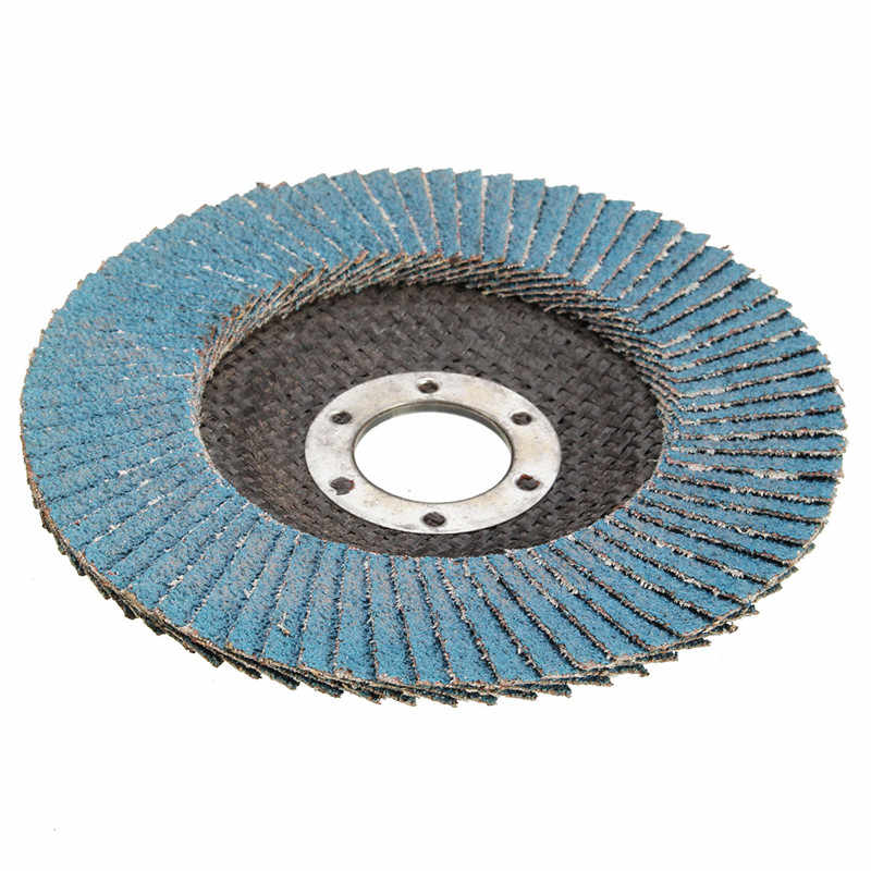 115mm//4.5/'/' Flap Wheels Grinding Sanding Discs 40//60//80//120 Grit Angle Grinder !
