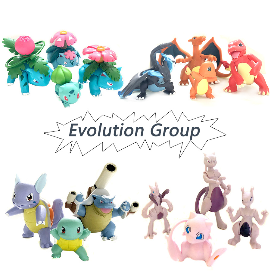 evolution-group-mewtwo-charizard-venus-blastoise-anime-action-toy-figures-collection-model-toy-car-decoration-toy-font-b-pokemones-b-font
