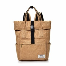 2017, новая мода путешествия рюкзак дамы Sacs à Bandoulière досуг студента мешок мягкий крафт Бумага Рюкзаки окружающей среды сумка M15436