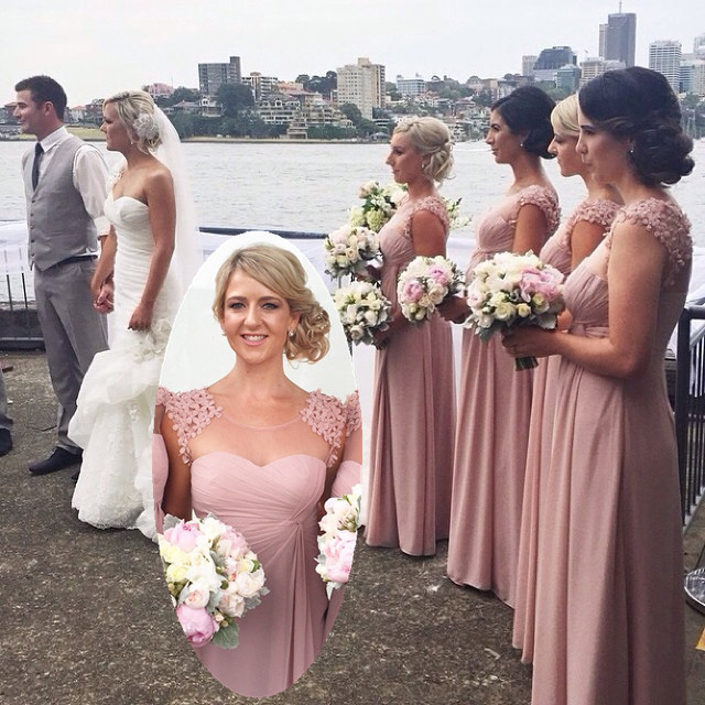 High Quality Dusty Pink Bridesmaid Dresses-Buy Cheap Dusty Pink ...