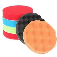 6 Pcs 6 polegada 150 mm Pad de polissage polissage roues Set Kit pour Auto voiture polisseuse
