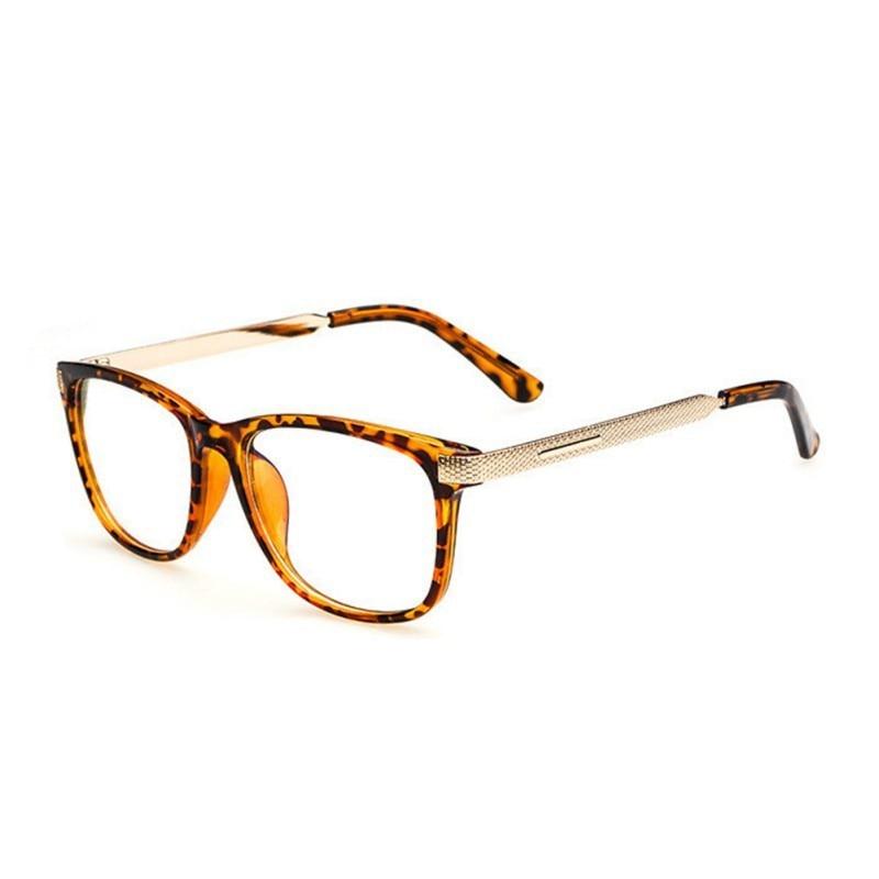 48271149c ̿̿̿(•̪ )الرجعية النظارات نظارات عدسة واضحة ميرال الساق إطار النظارات ...