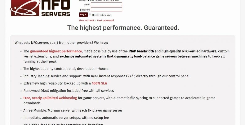 NFOservers:洛杉矶 internap 机房/2 核/2G/200GHDD/1G 端口/12T 流量/月付.99