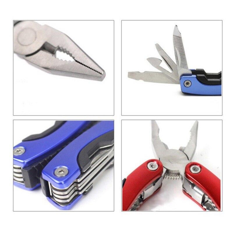 EDC Портативный Multi-Functioanl Нержавеющаясталь плоскогубцы Карманный Мини Компактный Ножи для шашлыков Инструменты Комбинации