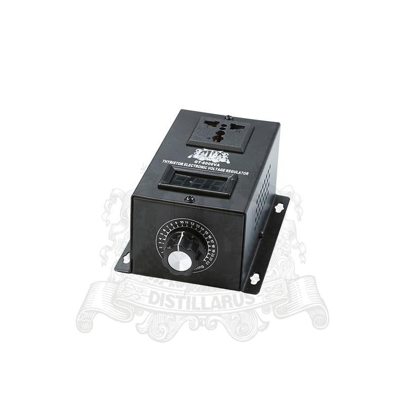 6000W Thyristor Electronic  Voltage regulator 0-220V . REAL Rated power 6000W.  Single phase 220V 50Hz single phase thyristor thyristor phase shift trigger controller trigger module 4 way transformer driver dk1 4