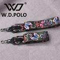 W.D.POLO Fashion bag strap women bags belts women bags accessory handbags parts PU leather shoulder bag and fabric M2065