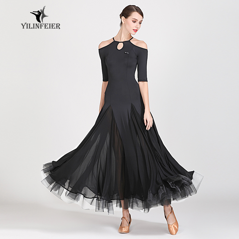 New Ballroom Dance Competition Dress Dance Ballroom Waltz Dresses Standard Dance Dress Women Ballroom Dress  S9054