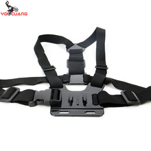 YOOCUANG For Gopro Accessories Adjustable Chest Strap Belt Body Tripod Harness Mount For Gopro Hero 5 4 3+ for Xiaomi Yi YX27