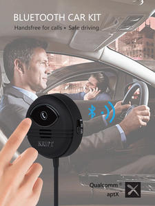 Car-Kit Handsfree-Receiver Mobile-Phones Kript Bluetooth 5.0 Connect Support APTX Can
