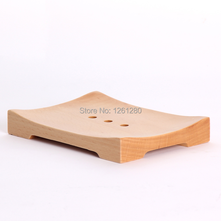 free shipping creative fashion wooden soap dish soap holder soap tray diy part box household bathroom diy carft home items