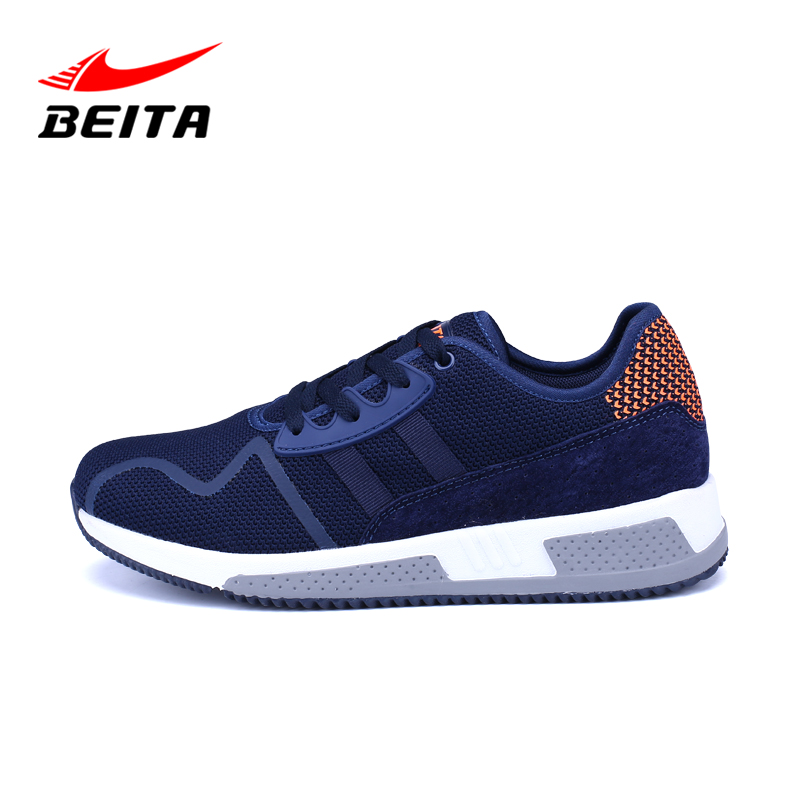 Beita Brand Men Casual Shoes Rubber Sole Lace Up Breathable Autumn Shoes for Man Superstar Fashion Footwear Man Shoes Flat Hot new 2016 medium b m massage top fashion brand man footwear men s shoes for men daily casual spring man s free shipping