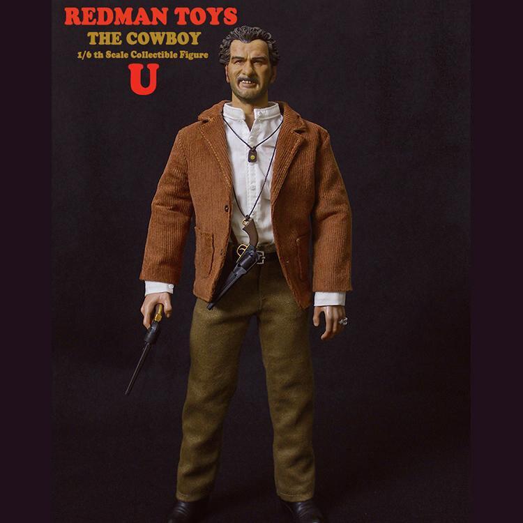 UGLY Cowboy V2-anneaux argentés x3-échelle 1//6 Redman Action Figures