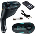 Car MP3 Player with perfect high-quality stereo Wireless FM Transmitter and USB SD MMC Slot 3.5mm with Remote L31122