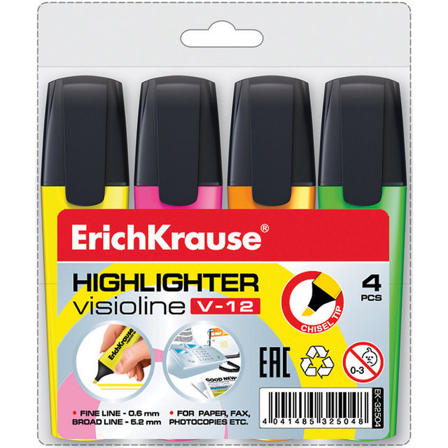ERICHKRAUSE Канцелярский набор 5543301 школьные офисные карандаши геометрический набор маркеров для школьников MTpromo