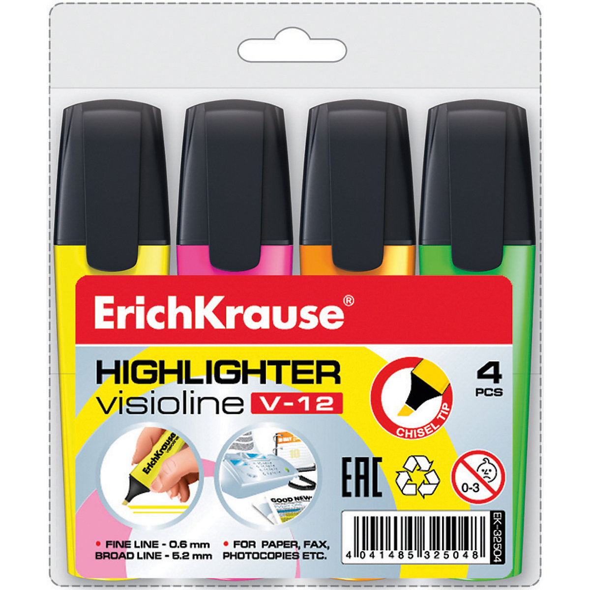 ERICHKRAUSE Stationery Set 5543301 school office pencils geometric set school enrolment markers MTpromo fountain pen shark style duke 911 2 colors to choose office and school stationery free shipping