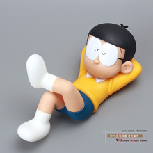 Anime Cartoon Doraemon Nobi Nobita PVC Action Figure Collection Model Toy Baby Toys Christmas Gifts 17cm DRFG010