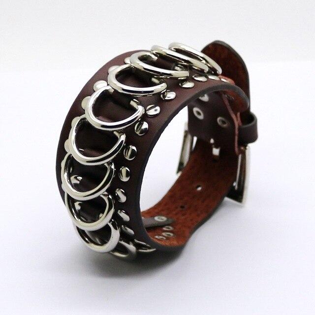 Фото 2020 ретро ювелирные изделия оптом кожаные браслеты новая мужская