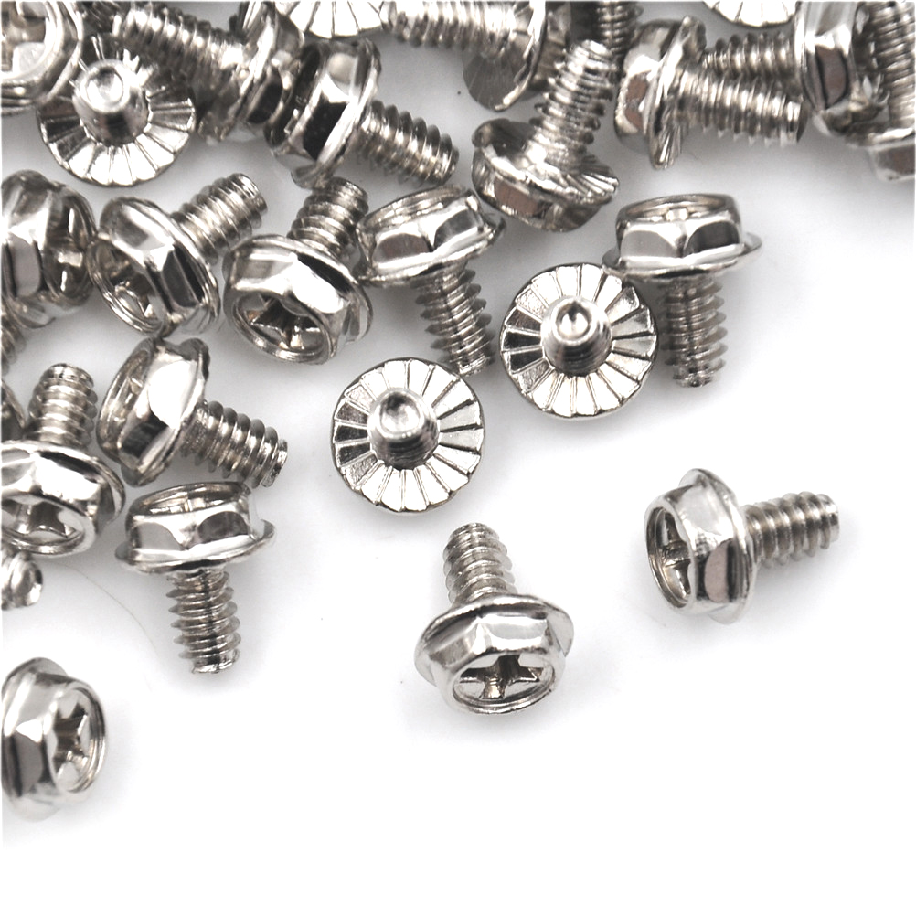 100Pcs <font><b>M3</b></font> <font><b>Screw</b></font> M3X5 <font><b>5mm</b></font> Case Hard Drive Precision PSU 6/32