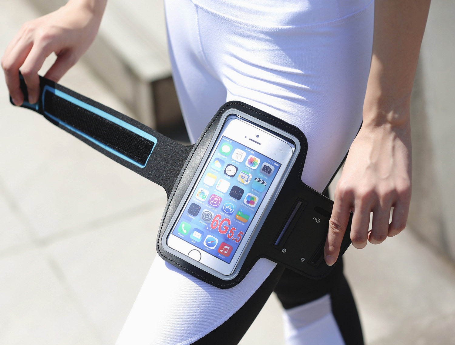 Running Cover Bags Phone Bag Waterproof Outdoor Sport Arm Bag Warkout Running Gym Phone Accessories Cover Bags