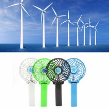 Foldable Hand Fans Battery Operated Rechargeable Handheld Mini Fan Electric Personal Bar Desktop