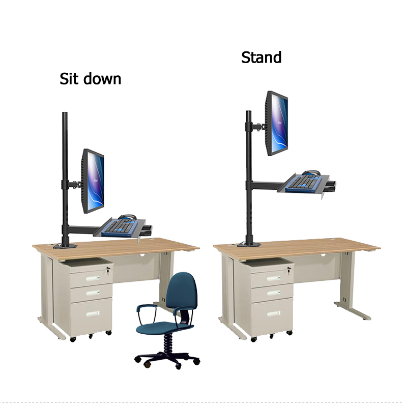 New Tablet pc stand LCD screen wall mount with keyboard tray laptop Computer Bracket Monitor display work stationNew Tablet pc stand LCD screen wall mount with keyboard tray laptop Computer Bracket Monitor display work station