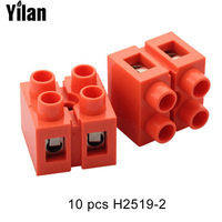 10PCS H2519 2 Terminal Block Connector Terminal Row Column Terminal Block 2 Bit 36A