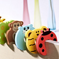 3PCS/lot Random colour Cartoon Jammer Stop Door stopper holder lock Safety Guard Finger Protect &6003