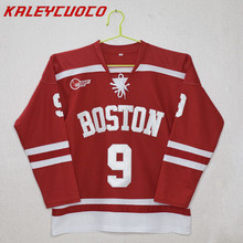 8c32d3bd8 Boston University  9 Jack Eichel Stitched Hockey Red Jersey XXS-6XL(China)