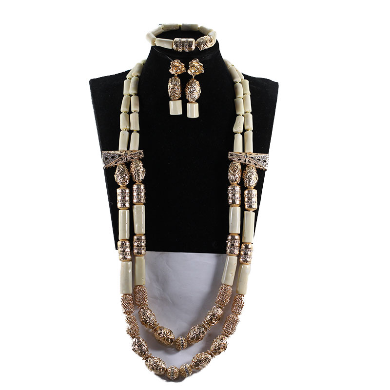 Amazing White Long Coral Beads Necklace Set White Coral Costume African Beads Jewelry Set Gold Fashion Coral Beads CG067Amazing White Long Coral Beads Necklace Set White Coral Costume African Beads Jewelry Set Gold Fashion Coral Beads CG067