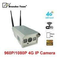 Wi Fi 4 г беспроводная ip камера Открытый 1080 P ИК ИК ночного видения видео motion безопасности сети водонепроницаемый sd карт