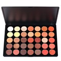 35 Color Nature Glow Eyeshadow Palette Professional Matte Shimmer Eye shadow Cosmetics Make Up For Eyes