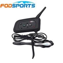 Fodsports Marca V4 1200 M 4 Jinetes Mismo Tiempo Hablando De Fútbol Árbitro Juez Auricular Impermeable intercomunicador del Interphone Del Bluetooth