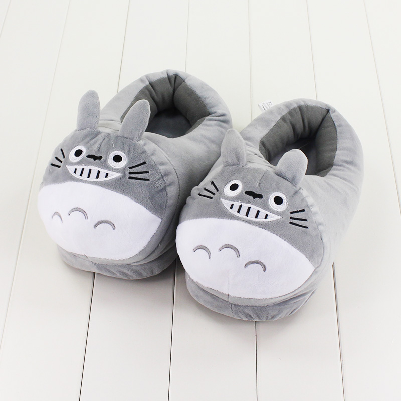 27 cm cute Totoro Slipper soft Hot Japanese famous Movie My Neighbor Tonari no Totoro kawaii animal zapatilla para regalos de cumpleaños
