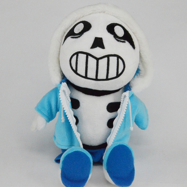 Undertale Sans Plush NEW Soft Doll Toy Kids Birthday Gift