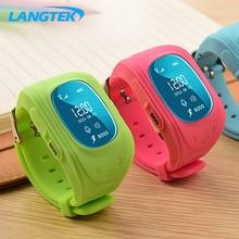 LANGTEK K60 GPS Smart Kid Safe smart Watch SOS Call Location Finder Locator Tracker for Child Anti Lost Monitor Baby Son PK Q90