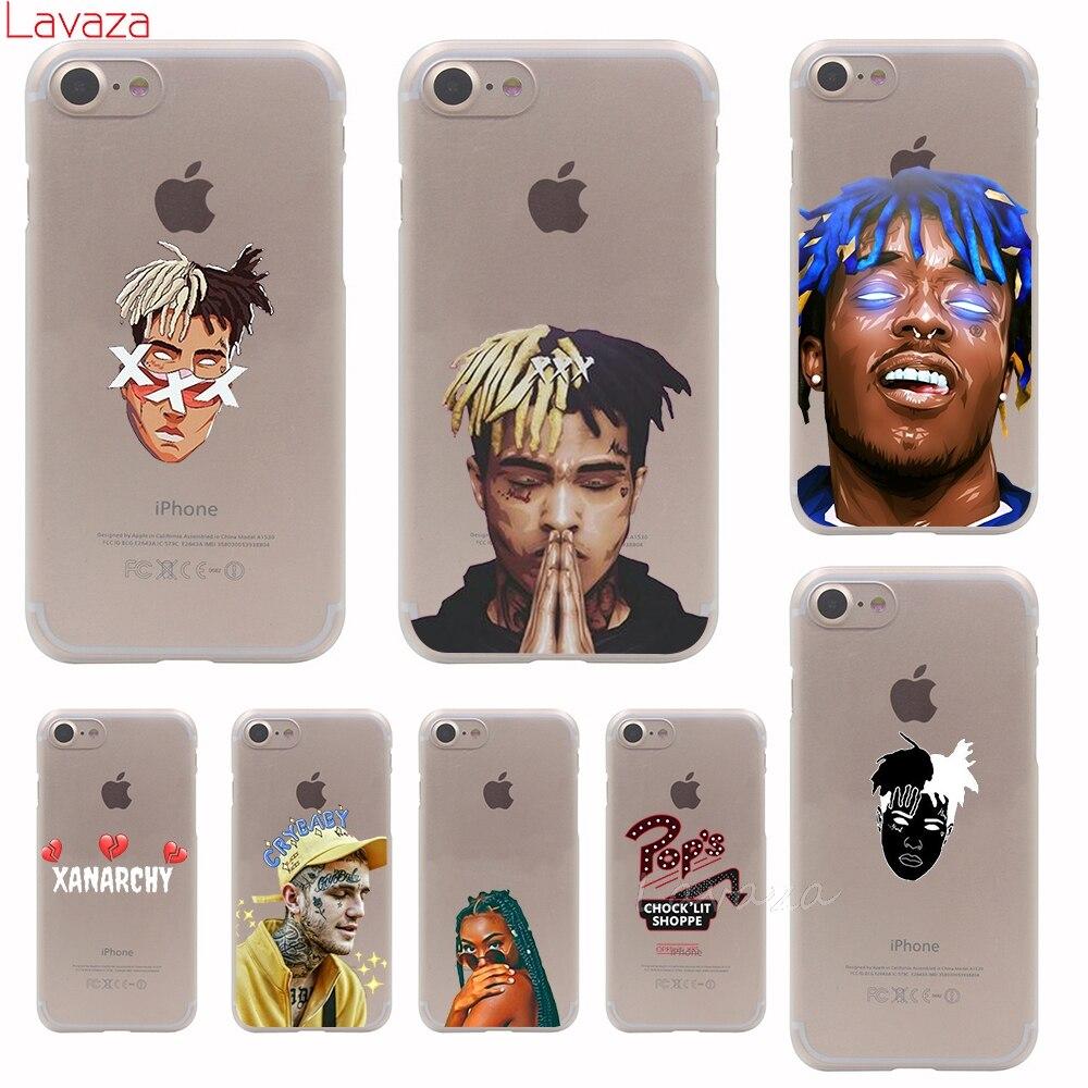 Lavaza XXXTENTACION Lil Peep Hip hop Hard Phone Cover Case for Apple iPhone 7 8 Plus X 8 7 6 6s 5 5s SE for iPhone 7 Case