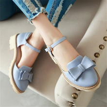 Más el tamaño 34-43 nueva moda zapatos de mujer Bowtie Mocasines estilo dulce punta redonda bajo el talón de La Mariposa-nudo casual zapatos mujeres del partido