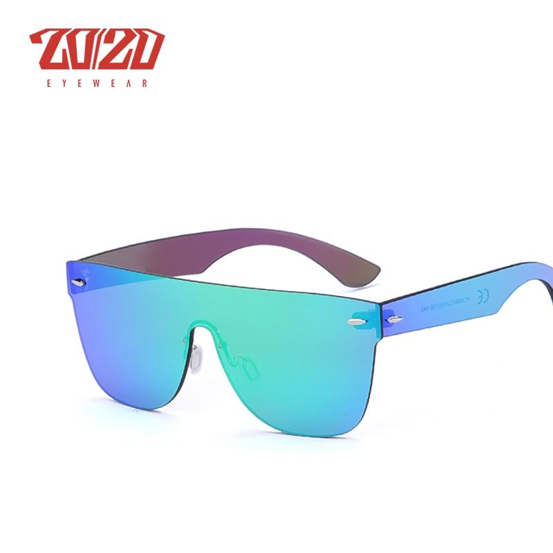 Image 4 - 20/20 Brand New Sunglasses Men Travel Driving Mirror Flat Lens Rimless Women Sun Glasses Eyewear Oculos Gafasbrand new sunglassesnew sunglassesflat lens -
